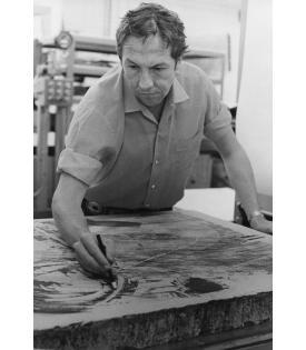 Robert Rauschenberg (Photo © Sidney B. Felsen)