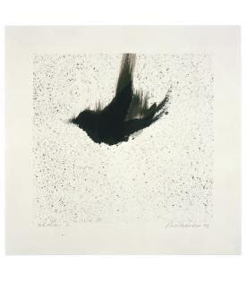 Ross Bleckner, Single Bird , 1999
