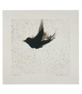 Ross Bleckner, Single Bird (State), 1999