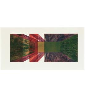 Ronald Davis, Double Slice, 1972