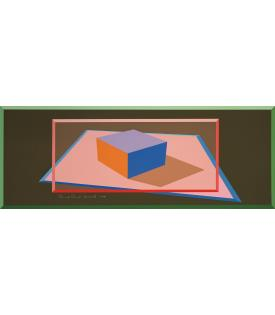 Ronald Davis, Framed Block, 1974
