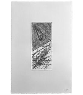 Ronald Davis, Drypoint Zeta, 1981