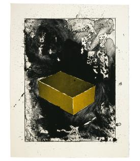 Ronald Davis, Yellow Brick, 1983