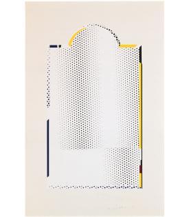 Roy Lichtenstein, Mirror #7, 1972