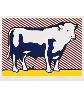 Roy Lichtenstein, Bull VII, 1974