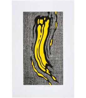 Roy Lichtenstein, Yellow Brushstroke, 1985