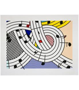 Roy Lichtenstein, Composition II, 1996