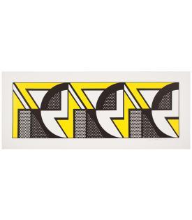 Roy Lichtenstein, Repeated Design, 1969