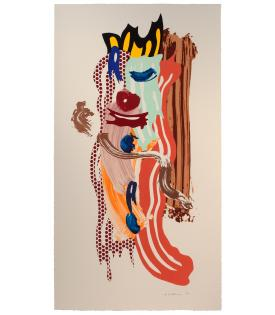 Roy Lichtenstein, Roads Collar, 1989.