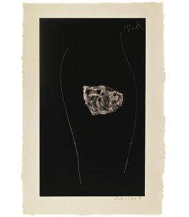 Robert Motherwell, Soot-Black Stone, #5
