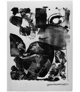 Robert Rauschenberg, Test Stone #1, 1967