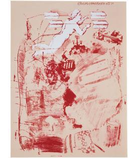 Robert Rauschenberg, Score, 1970
