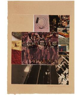 Robert Rauschenberg, Horsefeathers Thirteen - VIII, 1972