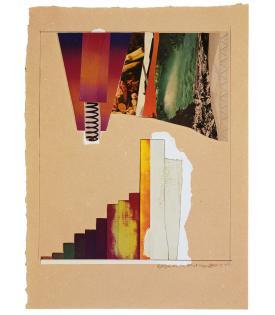 Robert Rauschenberg, Horsefeathers Thirteen - VII, 1972