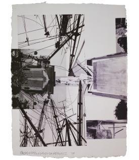 Robert Rauschenberg, Rookery Mounds - Steel Arbor, 1979