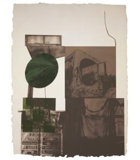 Robert Rauschenberg, Rookery Mounds - Moon Melon, 1979