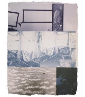 Robert Rauschenberg, Rookery Mounds - Yardarm, 1979