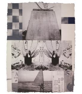 Robert Rauschenberg, Rookery Mounds - Crystal, 1979