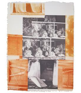 Robert Rauschenberg, Rookery Mounds - Masthead, 1979