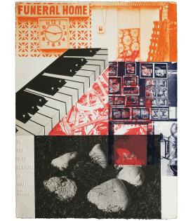 Robert Rauschenberg, American Pewter with Burroughs VI, 1981