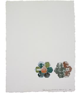 Robert Rauschenberg, L.A. Flakes - 11,000' and Rising, 1982