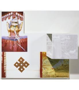 Robert Rauschenberg, Tibetan Locks (Curtain), 1987