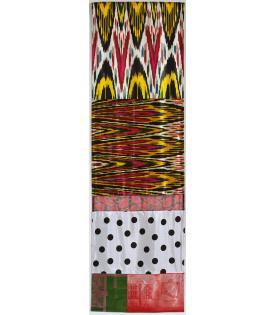 Robert Rauschenberg, Samarkand Stitches VI, 1988