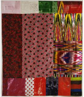 Robert Rauschenberg, Samarkand Stitches I, 1988