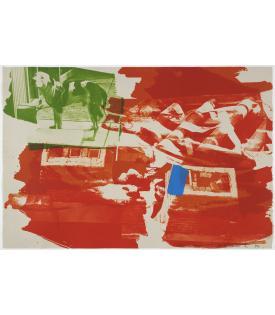 Robert Rauschenberg, Rust Pursuit, 1991