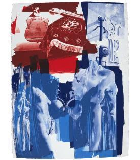 Robert Rauschenberg, Blues, 1991
