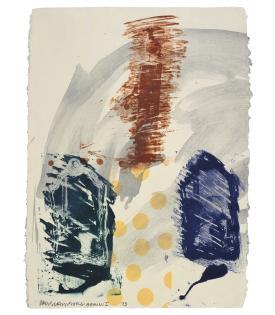 Robert Rauschenberg, Bird Dock, 1993