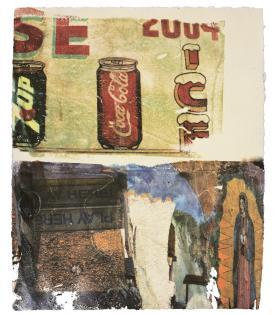 Robert Rauschenberg, L.A. Uncovered #3, 1998