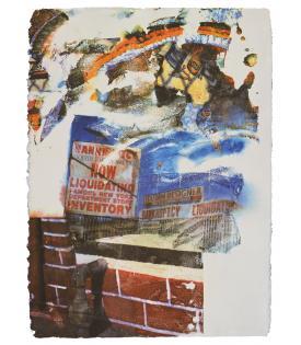 Robert Rauschenberg, L.A. Uncovered #6, 1998