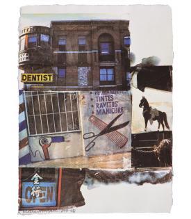Robert Rauschenberg, L.A. Uncovered #10, 1998