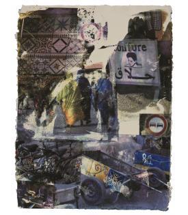 Robert Rauschenberg, Slink (Marrakitch), 2000