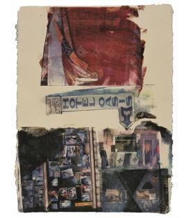 Robert Rauschenberg, Next Room (Marrakitch), 2000