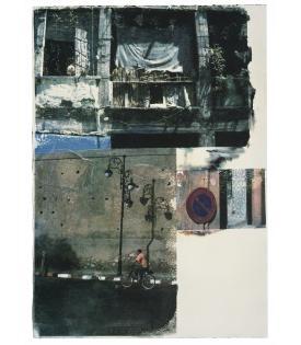 Robert Rauschenberg, Winner Spinner (Marrakitch), 2000