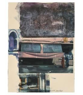 Robert Rauschenberg, Gossip (Marrakitch), 2000