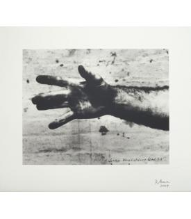 Richard Serra Still from 'Hand Catching Lead', 2009
