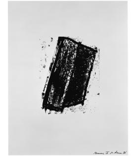 Richard Serra, Sketch 3, 1981