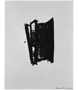Richard Serra, Sketch 6, 1981