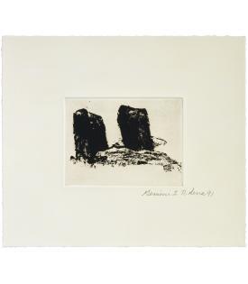 Richard Serra, Videy Afangar #6, 1991