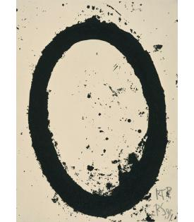 Richard Serra, MOCA print, 1999