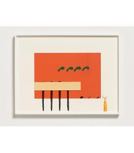 """Richard Tuttle, """"For Case Hudson, Printer"""", 2013"""