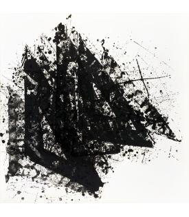 Sam Francis, Deft and Sudden Gain, 1976