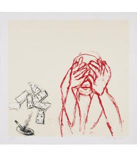 Susan Rothenberg, Crying, 2003
