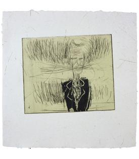 Susan Rothenberg, Breath-Man (State), 1986