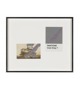 Tacita Dean, Pantone Pair (Cool Gray 7), 2019