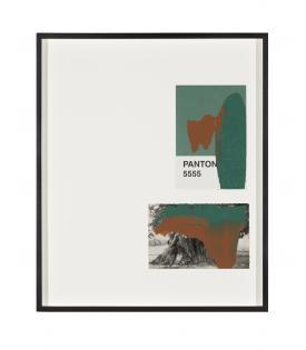 Tacita Dean, Pantone Pair (5555), 2019