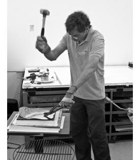 Richard Tuttle (Photo © Sidney B. Felsen)